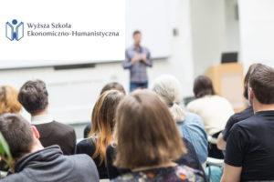 Warsztat dla studentów Wyższej Szkoły Ekonomiczno-Humanistycznej w Bielsku-Białej